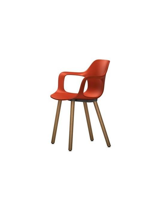 Stuhl HAL Armchair Wood Vitra