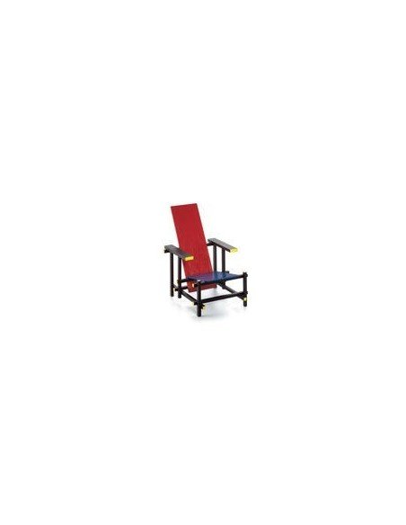 Rood Blauwe Stoel Miniatures Collection Vitra