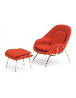 Womb Chair & Ottoman Miniatures Collection Vitra