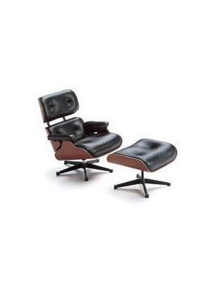 Lounge Chair & Ottoman Miniatures Collection Vitra