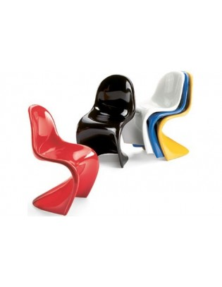 Panton Chairs (5er-Set) Miniatures Collection Vitra