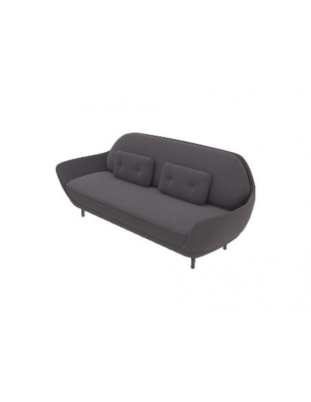 Sofa Favn von Fritz Hansen 3-Sitzer