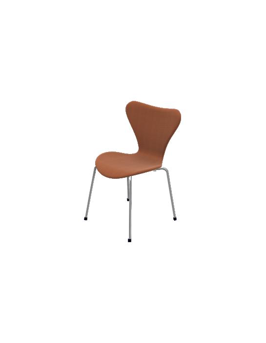 Stuhl Serie 7 mit Stoffbezug von Fritz Hansen