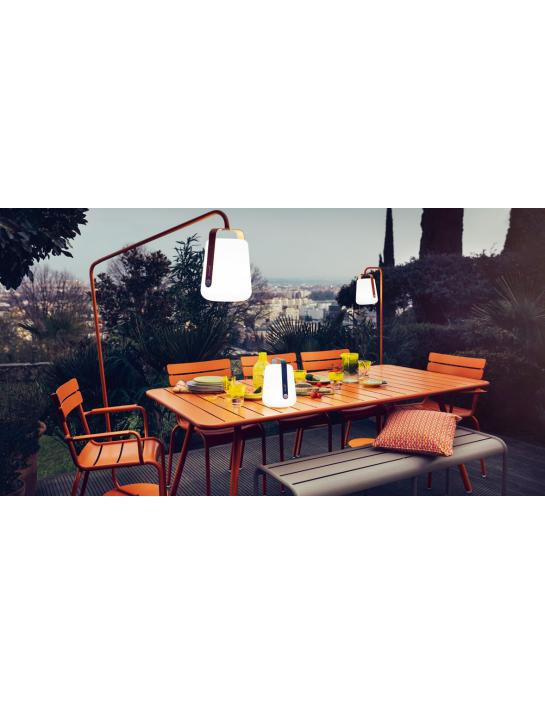 Tisch Luxembourg Fermob 80x80 cm 4 Beine