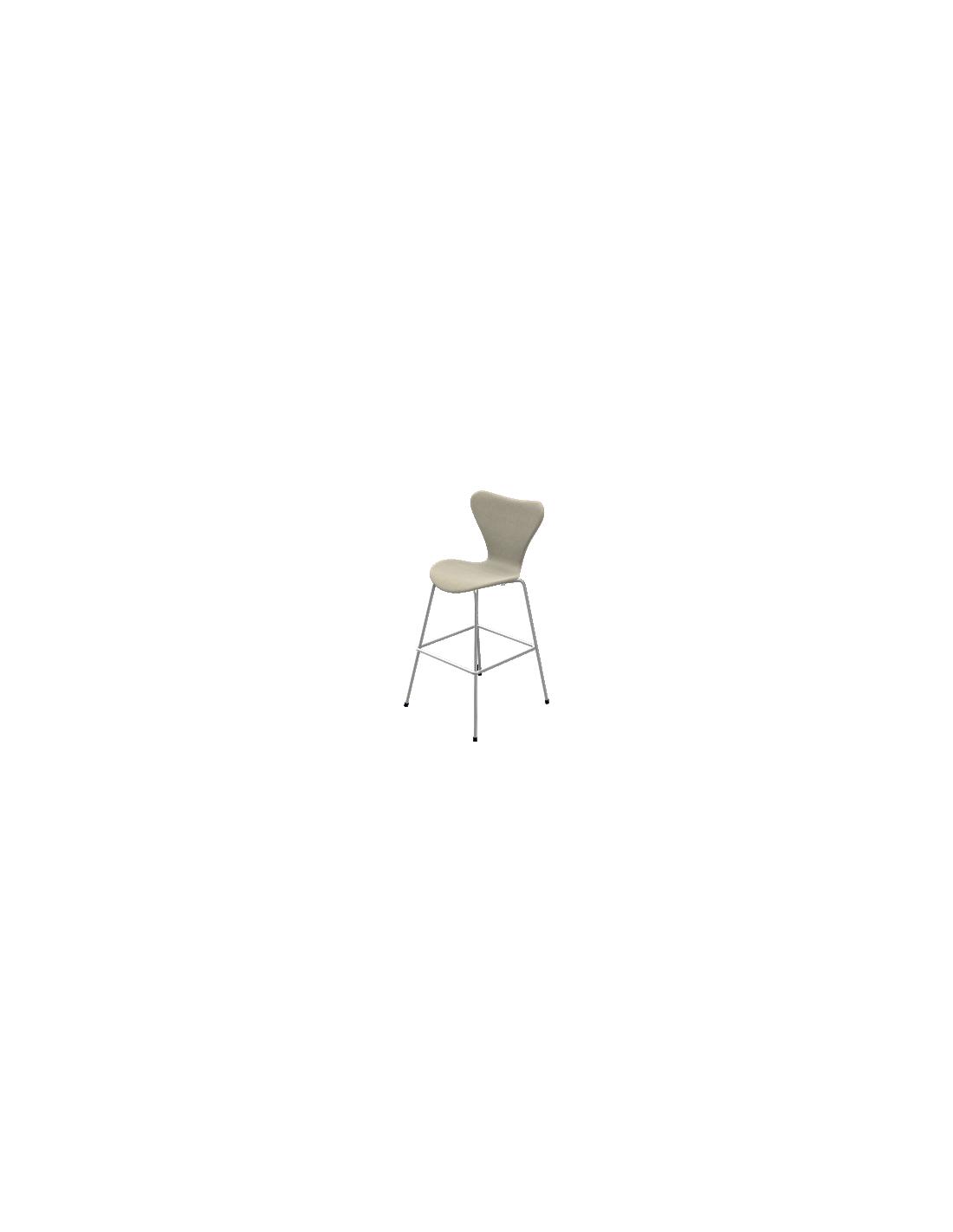 Hoher barhocker serie 7 von fritz hansen for Hoher tisch mit barhocker