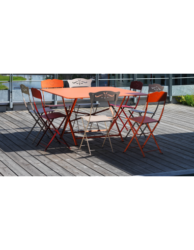 Gartentisch Cargo Table Fermob 128x128 cm